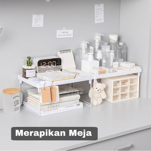 Foto Produk Rak Penyimpanan Meja Model Lipat Serbaguna HRM311 dari Mainland_