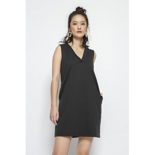 Foto Produk Minimal Lyanna V-Neck Dress - S dari minimal