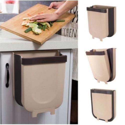 Foto Produk Tempat Sampah Lipat Model Gantung Minimalis Serbaguna dari PINZY Official Store