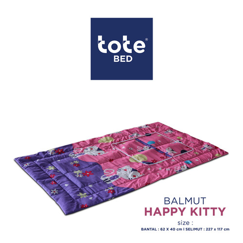 Foto Produk Tote Bantal Selimut Karakter Limited Edition dari Tote Bed