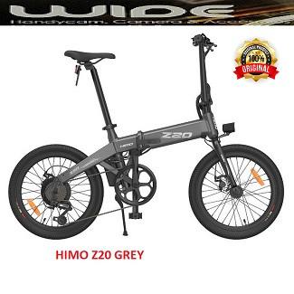 Foto Produk Xiaomi HIMO Z20 Sepeda Lipat Elektrik Smart Moped Bicycle - grey dari TOKO WIDE