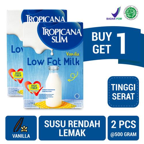 Foto Produk Buy 1 Get 1 Free Tropicana Slim Low Fat Milk 500gr dari NutriMart