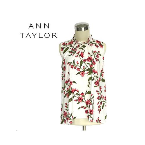 Foto Produk Blouse Wanita - Ann Taylor Sleeveless Floral Original - XXS dari kenso collection