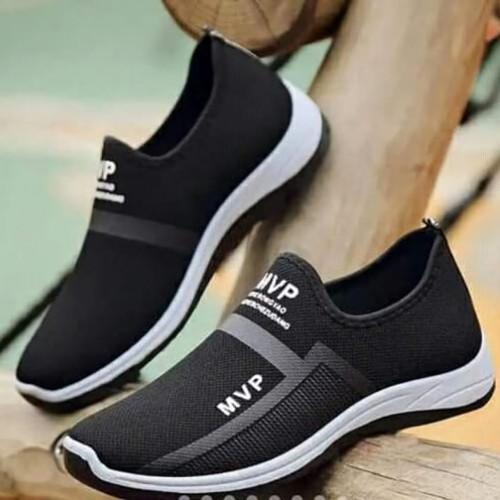 Foto Produk Sneakers MPV Terbaru Sepatu Pria Kasual Sepatu Trendy Sepatu Laki laki - Hitam, 39 dari DANS SCOUT