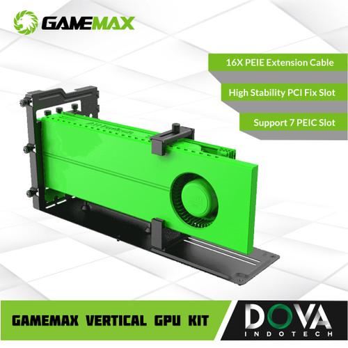 Foto Produk GAMEMAX VERTICAL GPU KIT dari Dova Indotech