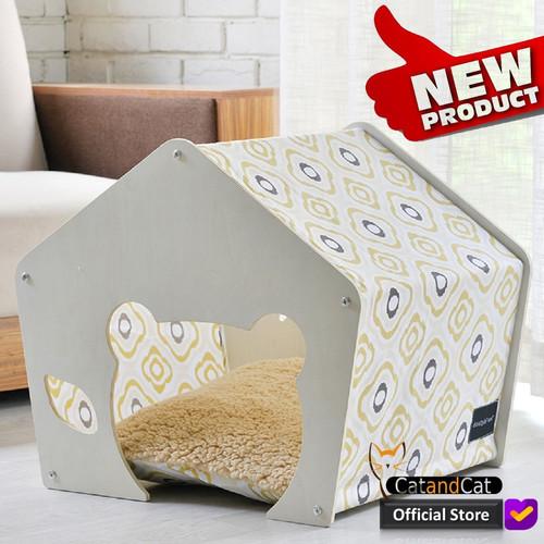 Foto Produk Rumah Kucing - Cat House Premium Japanese Style dengan Bantal Lembut dari catandcat