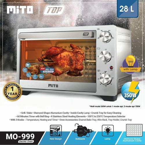 Foto Produk Oven Mito TOP MO-999 28 liter dari Pedo Store