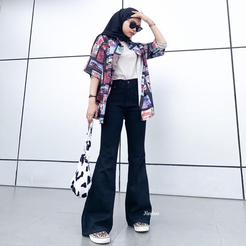 Foto Produk JINISO - HW Cutbray Jeans 323 - 333 HOTTY GANG dari JINISO.ID