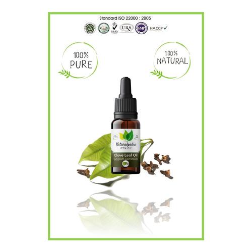 Foto Produk Pure Clove Leaf Bud Essential Oil / Minyak Esensial Cengkeh Murni 10ml dari Naturalpedia Shop