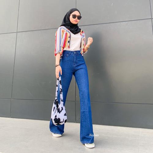 Foto Produk JINISO - HW Cutbray Jeans 320 - 330 HOTTY GANG dari JINISO.ID