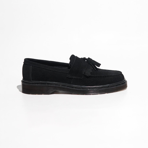 Foto Produk HIGHTY Abbey Suede Tassel Loafers - Black (Limited Pairs) - 39 dari HIGHTY OFFICIAL