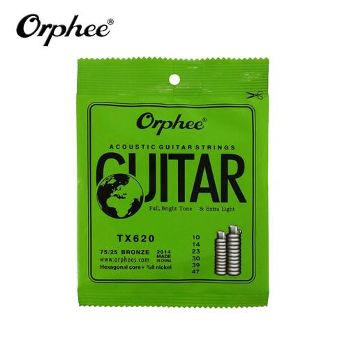Foto Produk Orphee TX620 10-47 Senar Gitar Akustik String 75/25 Bronze dari Grandia Shop