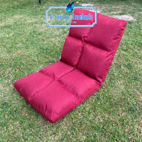 Foto Produk kursi lesehan/ kursi lipat lantai/kursi tatami IMPORT 100×46CM - Merah dari Furla Indah
