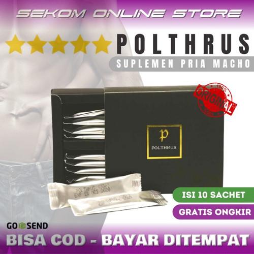 Foto Produk POLTHRUS Suplemen Pria Dewasa - Suplemen Herbal Tahan Lama dari SEKOM ONLINE STORE