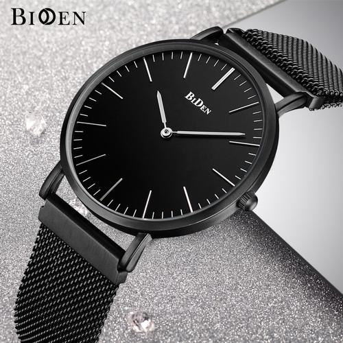 Foto Produk jam tangan Biden pria wanita fashion elegant sport quartz bisnis - Hitam dari BIDEN Official Store