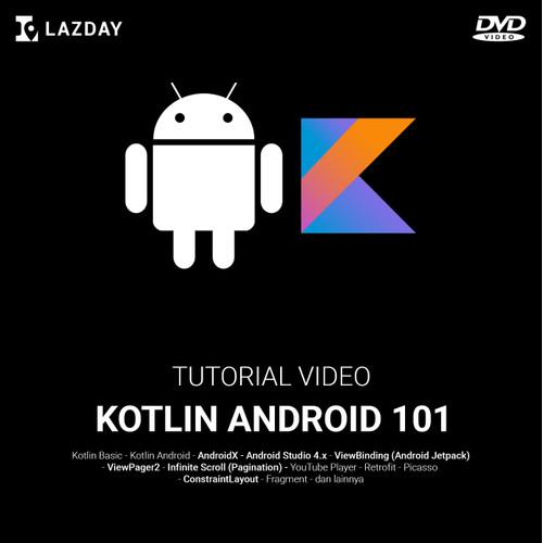 Foto Produk Kotlin Android Developer 101: Video Kursus Pemrograman Android dari warung belajar