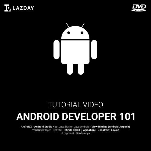 Foto Produk Tutorial Membuat Aplikasi Pemutar Video YouTube dengan Android Studio dari warung belajar