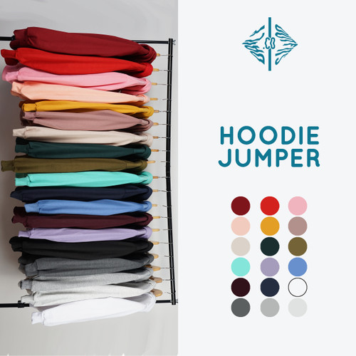 Foto Produk Jaket Sweater Polos Hoodie Jumper XXL - Premium Quality dari Daily Outfits DYO