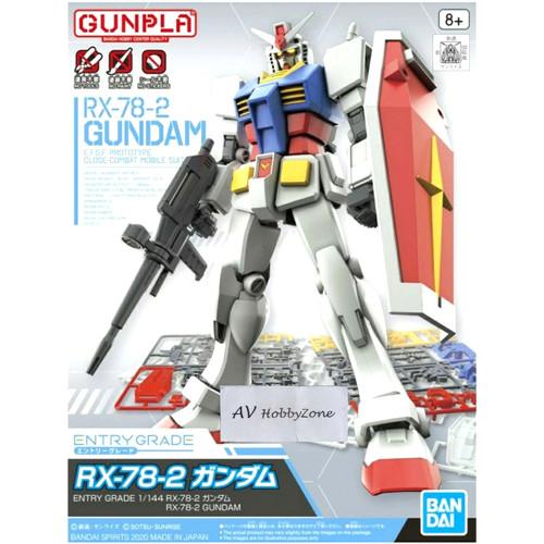 Foto Produk Entry Grade RX-78-2 Gundam Bandai dari AV HobbyZone