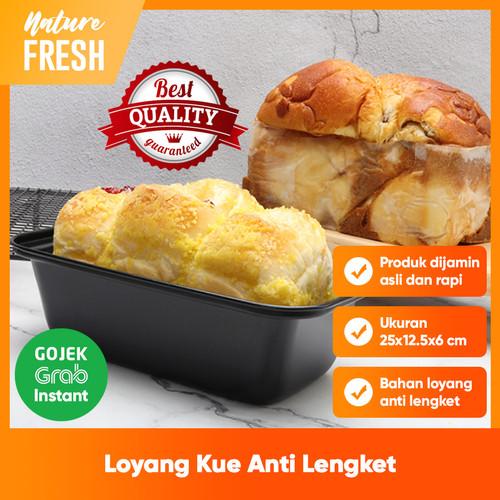 Foto Produk Loyang Roti Tawar Cake Pan Bread loaf Pan Roti Sobek Loyang Persegi dari NatureFresh