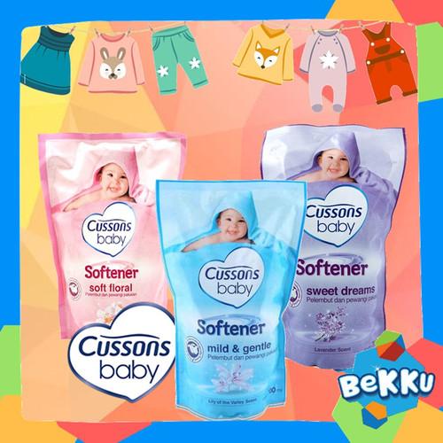 Foto Produk Cussons Baby Softener 700ml REFILL / Cusson Pelembut Pakaian / beKKu - SOFTENER UNGU dari tokobekku