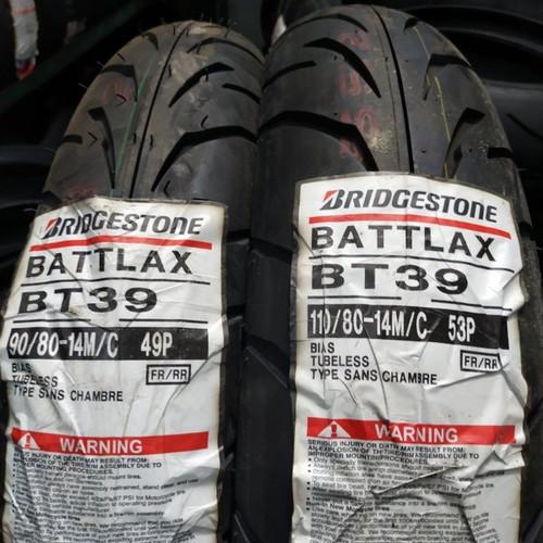 Foto Produk Ban BATTLAX BT39 Ukuran 90/80-14 ( NEW ) dari Sumber Jaya Motor