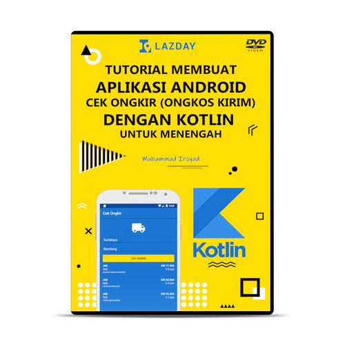 Foto Produk Membuat Aplikasi Android Cek Ongkir dengan Kotlin dari warung belajar