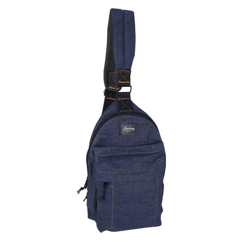 Foto Produk Lomberg Shoulder Denim Navy - Tas Punggung Denim - Biru Tua dari Lomberg Bags