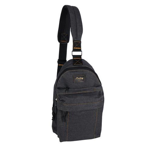 Foto Produk Lomberg Shoulder Black - Tas Punggung Denim - Hitam dari Lomberg Bags