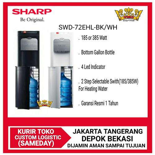 Foto Produk SHARP SWD-72EHL-WH/BL Water Dispenser Galon bawah dari DPRINCE