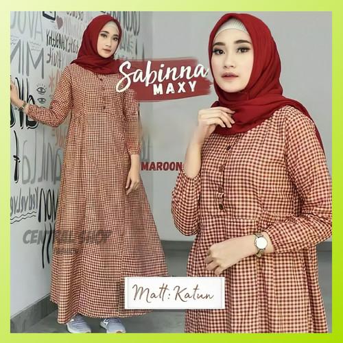 Foto Produk Baju Gamis Muslim Brukat Syari Wanita Katun Pesta Remaja Terbaru Murah - Hitam, S dari Central_Shop_Fashion