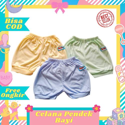 Foto Produk Celana Pendek Bayi Baby Newborn Polos Warna Halus Murah dari Toko Bayi Hanifah