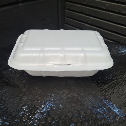 Foto Produk STYROFOAM kecil kotak makan box nasi bubur ayam geprek foam gabus dari Bahari Kemasan