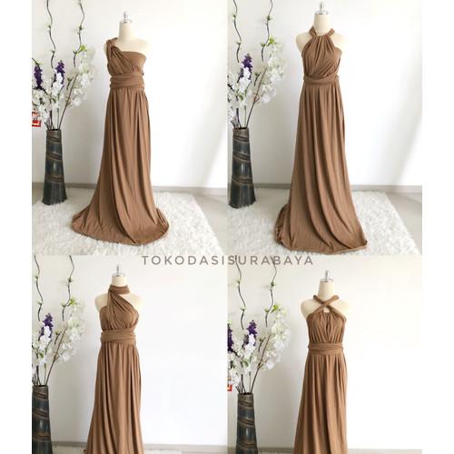 Foto Produk Multiway dress infinity convertible bridesmaid maternity milo brown dari OSGROSIR SURABAYA
