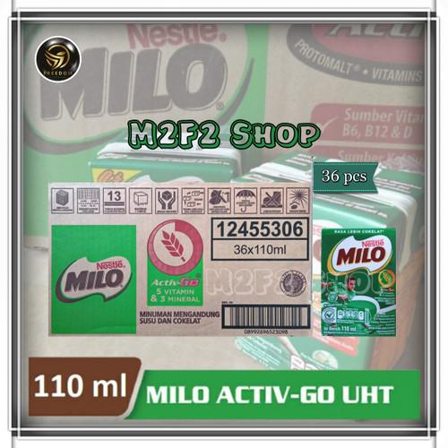 Foto Produk Susu Milo Kotak Coklat ACTIVE GO UHT - 115 ml dari M2F2 Shop