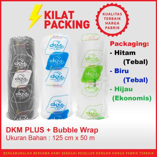 Foto Produk Plastik Bubble / BUBLE Wrap 125cm x 50m DKM PLUS PREMIUM MURAH - HIJAU BENING dari kilatpacking