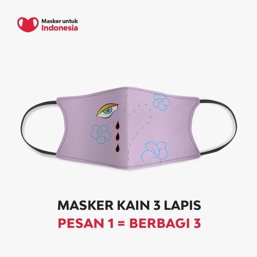 Foto Produk Mote Mote x Masker untuk Indonesia dari Masker untuk Indonesia