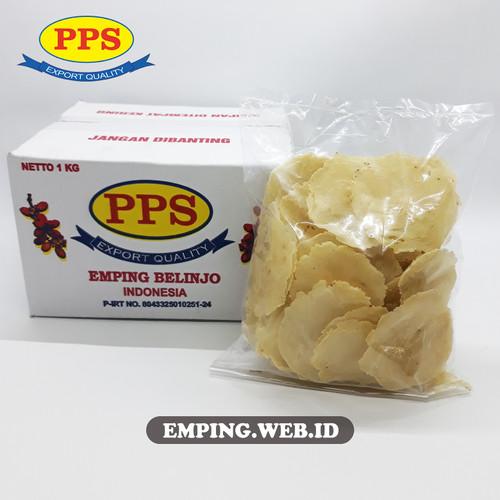 Foto Produk Termurah Emping Melinjo LB Khas LIMPUNG (Emping PPS), Kualitas OK - 1/4 kg dari PPS Official Store