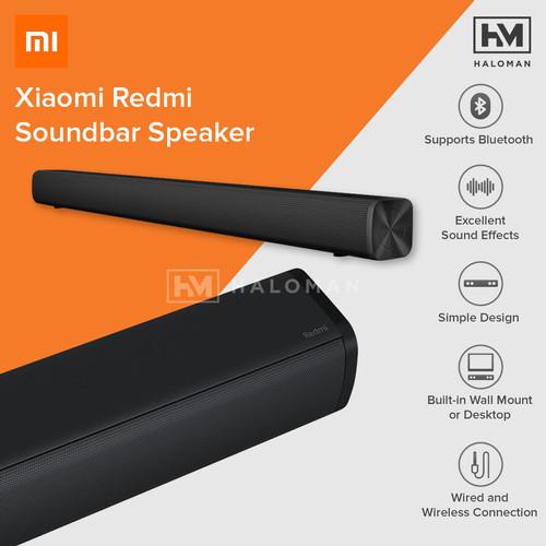Foto Produk Xiaomi Redmi Soundbar Speaker 30W Home Theater Bluetooth 5.0 - Black dari haloman.id