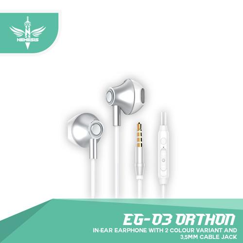 Foto Produk Earphone gaming NYK EG-03 ORTHON - Putih dari NYK Official Store