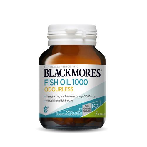 Foto Produk Blackmores odourles fish oil 30 kapsul - ISI 30 dari Mitrasana