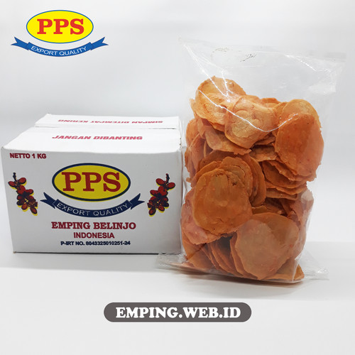 Foto Produk Emping Melinjo Benggol Pedas Khas LIMPUNG, Emping PPS - 1 kg dari PPS Official Store