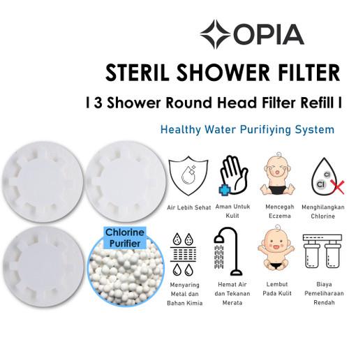 Foto Produk Opia Steril Shower Head Filter Refill Pack (3ea/Pack) dari Balita Kita