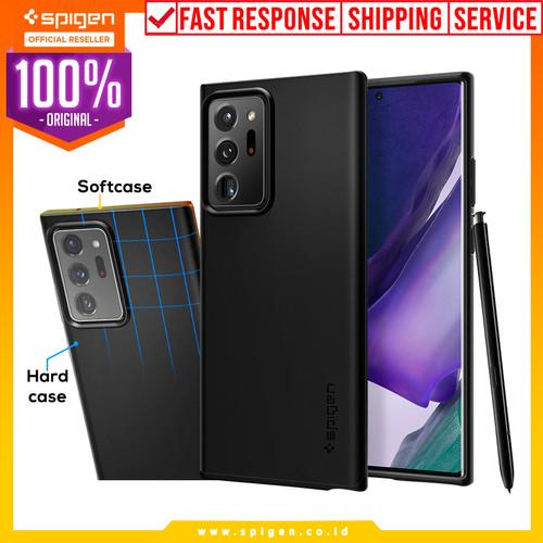 Foto Produk Case Samsung Galaxy Note 20 / Ultra Spigen Thin Fit Hardcase Casing - Note 20, Black dari Spigen Official