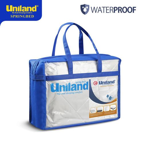 Foto Produk Uniland Mattress Protector 180 x 200 Waterproof Pelindung Matras Kasur dari Uniland Springbed