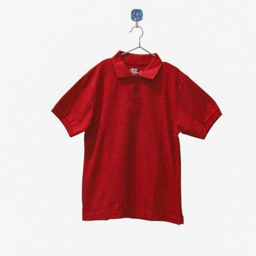 Foto Produk Kaos Polo Anak Laki Laki Series 1 - 14, Merah dari Little Cas