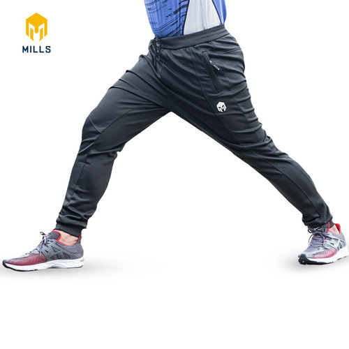 Foto Produk MILLS Celana Training Core Long Pants 7002 Black - M, Hitam dari MILLS Official