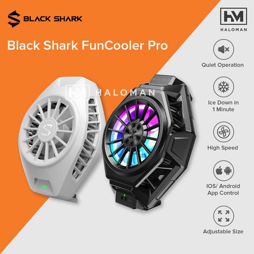 Foto Produk Black Shark 3 Pro FunCooler Pro - Fun Cooler Cooling Fan Pendingin HP - BR11 White dari haloman.id