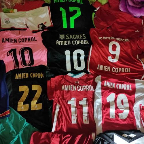 Foto Produk Pasang Nama + nomer punggung/nameset di jersey dari Duta Tama Sports