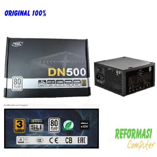 Foto Produk Deepcool DN500 PSU ATX Power Supply 500W 500 watt 80 PLUS - DP-DN500 dari REFORMASI COMPUTER
